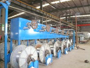 High / Low Carbon Automatic Wire Payoff Machinery For Raw Materials Low Noise