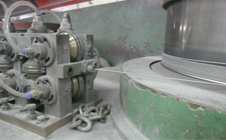 High Speed Alumium Wire Drawing Machine Parts 2.3 - 4.5mm Outlet Diameter