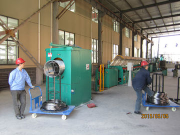 ประเทศจีน Air Pressure Control Industrial Wire Descaling Machine With Strong Triangular Belt โรงงาน