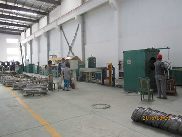ประเทศจีน Steel Wire Sheller Rust Remover Machine , Wire Brush Grinder Machine 1440rpm Speedd โรงงาน