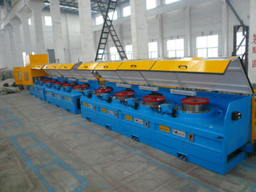 ประเทศจีน 8mm - 16mm Mechanical Wire Descaler Machine , High Speed Wire Processing Machine โรงงาน