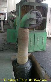 Fully Automatic Steel Wire Take Up Machine With Inverter Motor 45KW